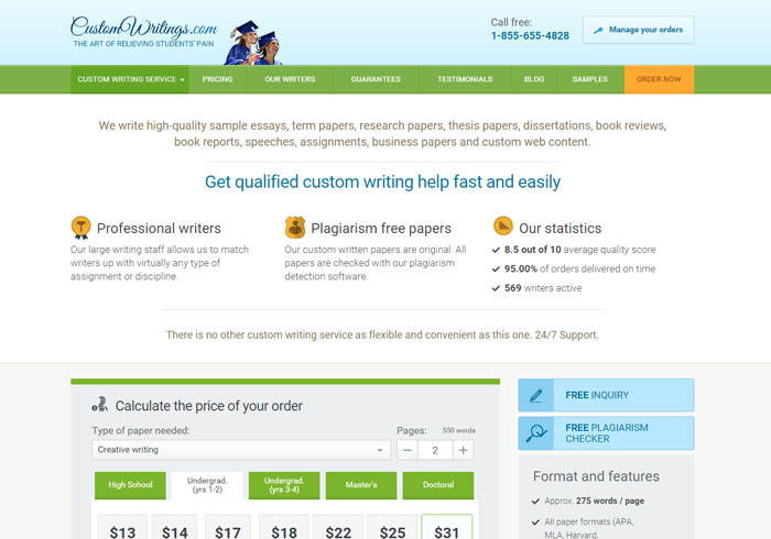 customwritings.com preview