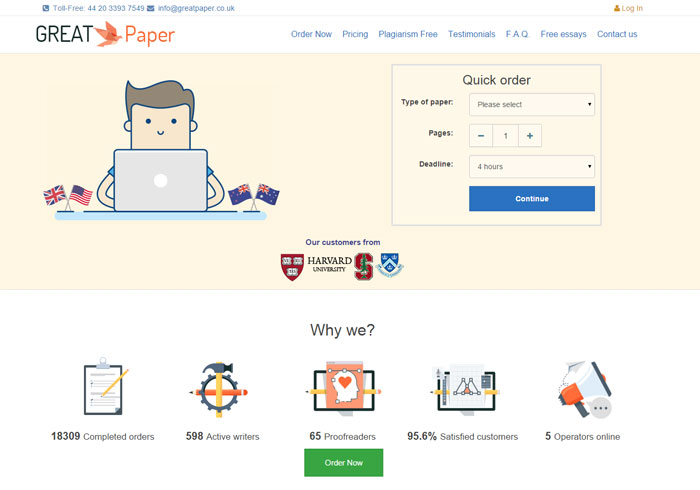 Greatpaper.co.uk preview