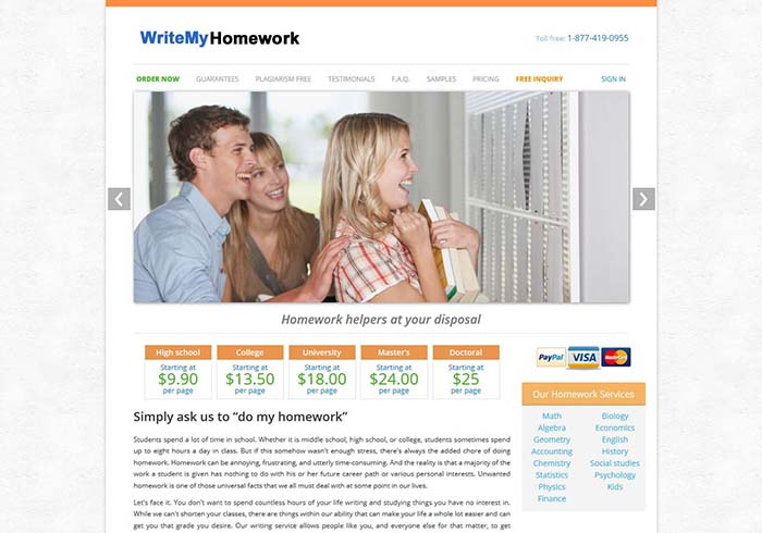 Writemyhomework.org preview